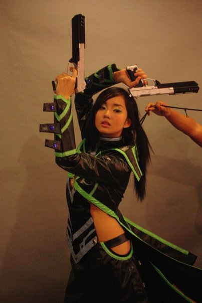 Alodia E-games Cosplay Photoshoot