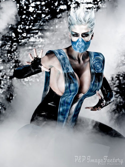 Cosplay Mortal Kombat  Frost-cosplay-01