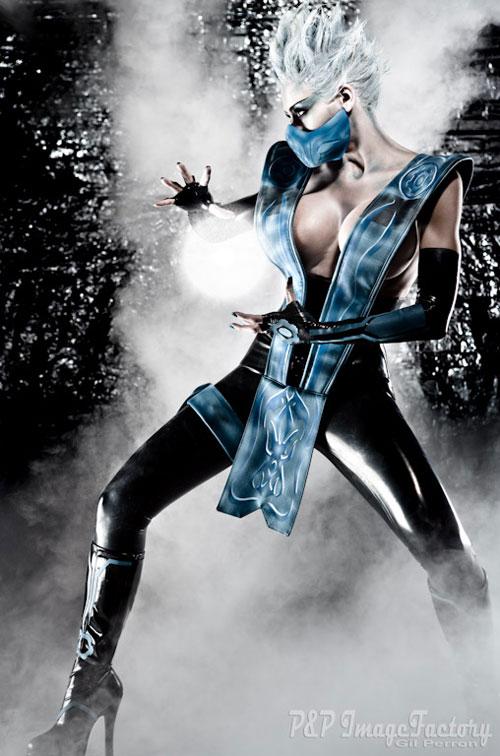 Mortal kombat frost cosplay the mike abundo effect
