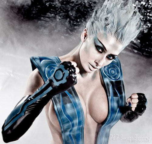 Cosplay Mortal Kombat  Frost-cosplay-08
