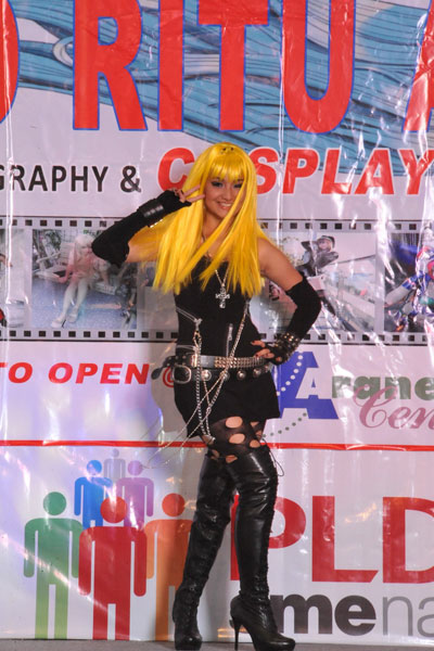 Alodia\'s Misa Amane Costume from Death Note