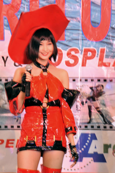 Alodia as I-No from Guilty Gear