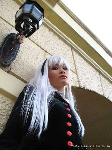 Filipina Cosplayer Jerry Polence as a Gothic Lolita