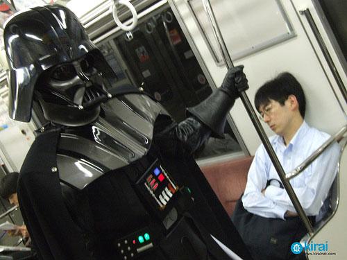 Danny Choo Cosplays Darth Vader