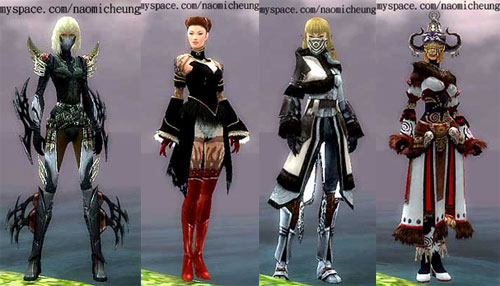 Naomi Cheung's Guild Wars Characters