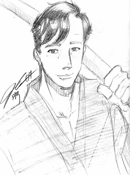 Mike Abundo as Tatewaki Kuno by Ian Cang