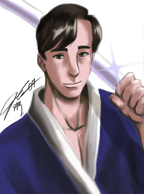 Me as Kuno by Ian Cang Colored by Fatima Camiloza