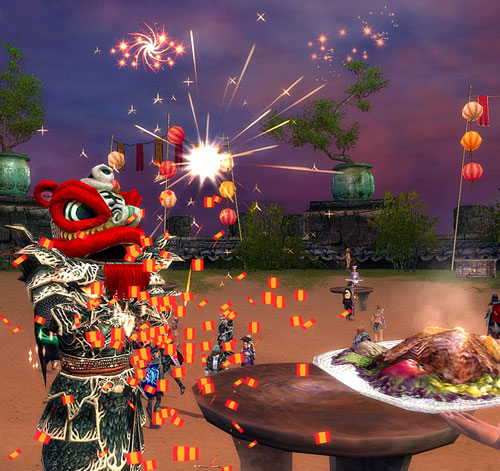 Guild Wars Canthan New Year