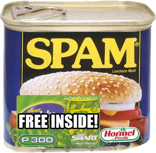 Free Smart Load in Spam