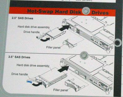 IBM System x3550 HDD