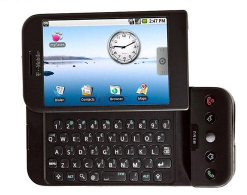 T-Mobile G1 Keyboard