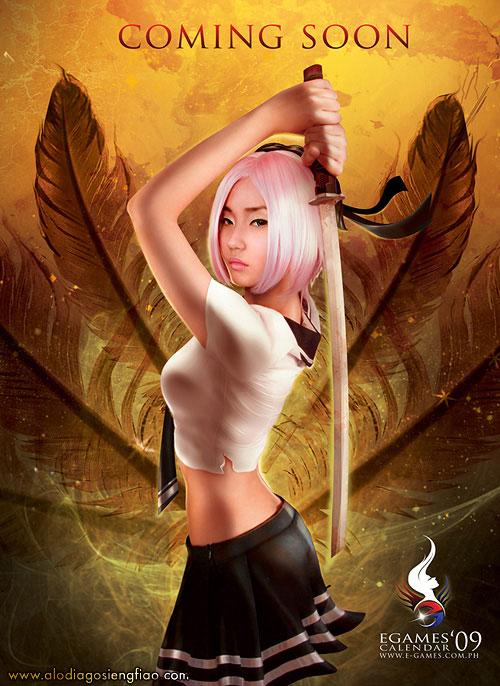 Alodia E-games Calendar Cover Teaser