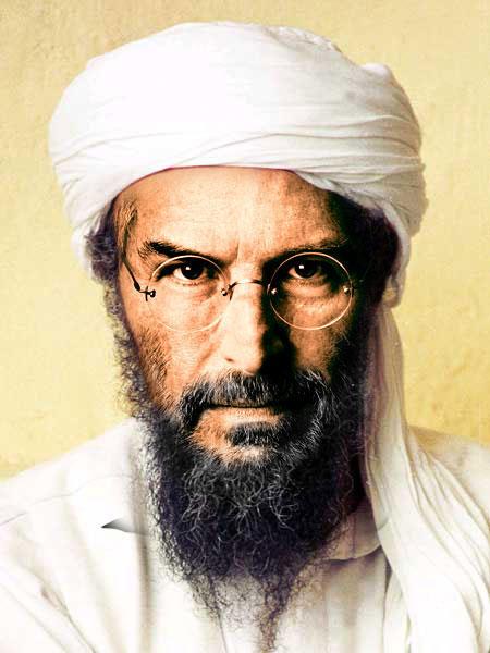 Steve Jobs as Osama Bin Laden