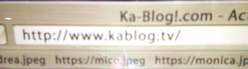 Ka-Blog Errors