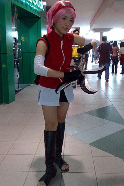 Archaelle Lai as Sakura Haruno from Naruto