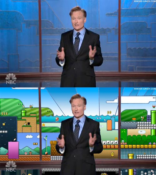 Super Mario World on The Tonight Show with Conan O'Brien