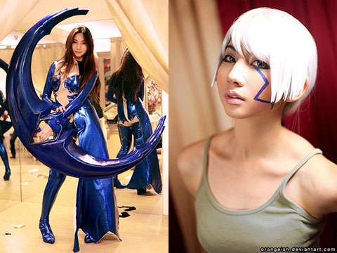Ashley Gosiengfiao as Shiori Tsuzuki from Witchblade