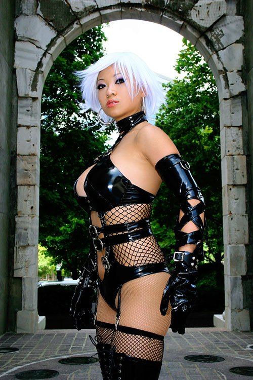 Chinese cosplayer Yaya Han as Christie from the video game Dead or Alive 4.