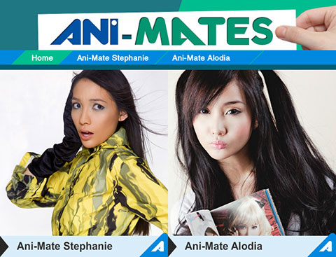 Animax Ani-Mates Stephanie Henares and Alodia Gosiengfiao
