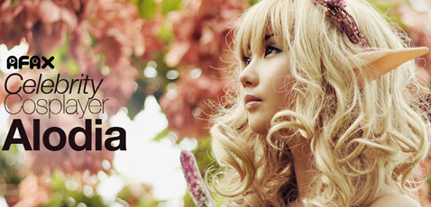 Filipina cosplay queen Alodia Gosiengfiao will appear as a guest of honor at Anime Festival Asia 2010.