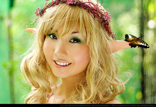 Filipina gamer and cosplayer Alodia Gosiengfiao.