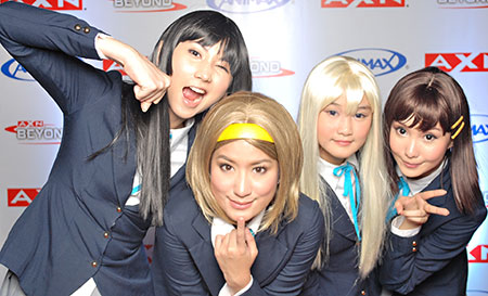 Animax Presscon Features Cosplayers