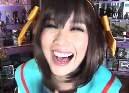 Alodia Returns to Cosplay as Haruhi
